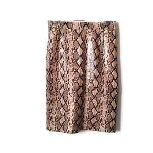 Guess by Marciano Skirt Snake Skin sz 8